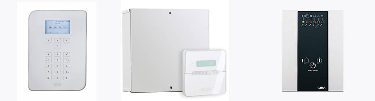 Hellmeier Elektrotechnik GmbH Alarmanlagen Beispiele: ABUS // GIRA