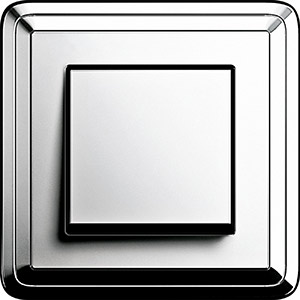 Gira ClassiX Chrome/Chrome